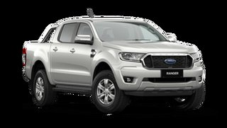2021 Ford Ranger PX MkIII XLT Double Cab Alabaster White 6 Speed Automatic Pick Up.