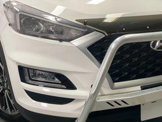 2020 Hyundai Tucson TL4 MY20 Active X AWD White 8 Speed Sports Automatic Wagon.