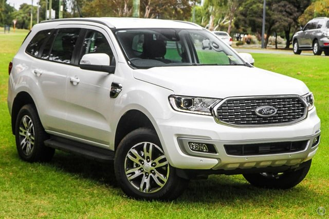 New Ford Everest UA II 2021.25MY Trend Oakleigh, 2021 Ford Everest UA II 2021.25MY Trend White 6 Speed Sports Automatic SUV