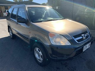 2004 Honda CR-V RD MY2004 4WD Brown 4 Speed Automatic Wagon.