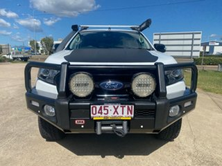 2017 Ford Ranger PX MkII 2018.00MY FX4 Double Cab White/271217 6 Speed Sports Automatic Utility