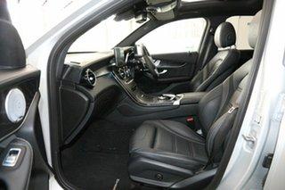 2018 Mercedes-Benz GLC-Class X253 809MY GLC63 AMG SPEEDSHIFT MCT 4MATIC+ S Silver 9 Speed
