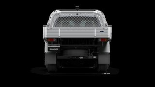 2021 Ford Ranger PX MkIII XLT Double Cab Chassis Meteor Grey 6 Speed Manual Pick Up.