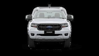 2021 Ford Ranger PX MkIII XL Double Cab Chassis Arctic White 6 Speed Manual Pick Up