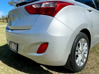 2014 Hyundai i30 GD2 MY14 Trophy Shimmering Silver 6 Speed Sports Automatic Hatchback