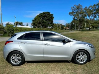 2014 Hyundai i30 GD2 MY14 Trophy Shimmering Silver 6 Speed Sports Automatic Hatchback.