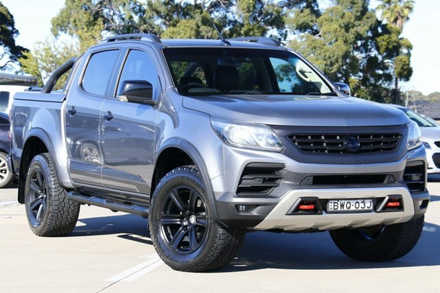Used Holden Special Vehicles Colorado RG MY18 SportsCat Pickup Crew Cab Chullora, 2018 Holden Special Vehicles Colorado RG MY18 SportsCat Pickup Crew Cab Satin Steel Grey 6 Speed
