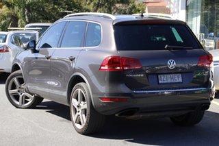 2011 Volkswagen Touareg 7P MY11 V6 FSI Tiptronic 4MOTION Grey 8 Speed Sports Automatic Wagon.
