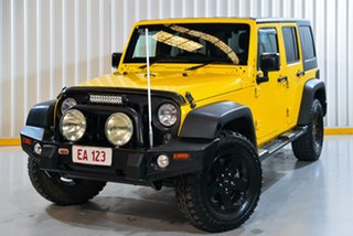 2014 Jeep Wrangler JK MY2014 Unlimited Sport Yellow 5 Speed Automatic Softtop.