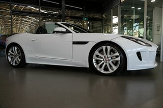 2017 Jaguar F-TYPE X152 MY17 Convertible White 8 Speed Sports Automatic Convertible