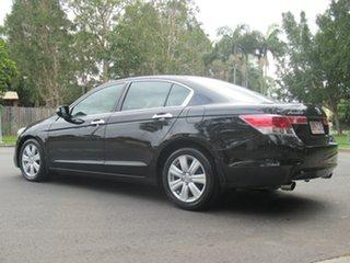 2010 Honda Accord 8th Gen MY10 V6 Luxury Black 5 Speed Sports Automatic Sedan.