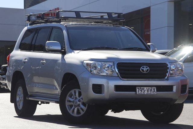 Pre-Owned Toyota Landcruiser VDJ200R MY13 GXL Woolloongabba, 2014 Toyota Landcruiser VDJ200R MY13 GXL Silver 6 Speed Sports Automatic Wagon