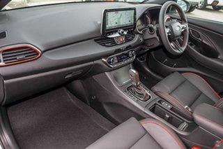 2021 Hyundai i30 PD.V4 MY21 N Line D-CT Premium White 7 Speed Sports Automatic Dual Clutch Hatchback