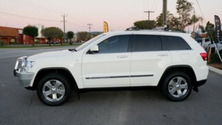 2011 Jeep Grand Cherokee WK MY2011 Overland White 5 Speed Sports Automatic Wagon
