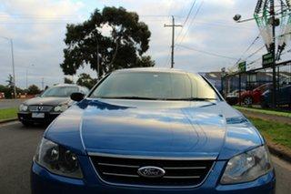 2007 Ford Falcon BF Mk II XT Blue 4 Speed Sports Automatic Sedan.