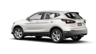 2021 Nissan Qashqai J11 Series 3 MY20 ST X-tronic Ivory Pearl 1 Speed Constant Variable Wagon