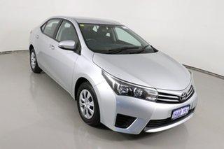 2015 Toyota Corolla ZRE172R Ascent Silver 7 Speed CVT Auto Sequential Sedan