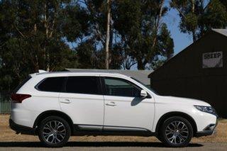 2018 Mitsubishi Outlander ZL MY18.5 LS AWD White 6 Speed Sports Automatic Wagon