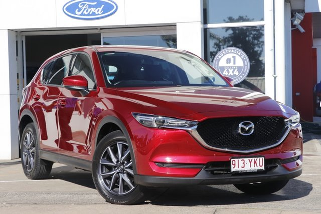 Used Mazda CX-5 KF4W2A GT SKYACTIV-Drive i-ACTIV AWD Beaudesert, 2018 Mazda CX-5 KF4W2A GT SKYACTIV-Drive i-ACTIV AWD Red 6 Speed Sports Automatic Wagon