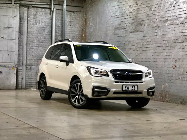 Used Subaru Forester S4 MY17 2.5i-S CVT AWD Mile End South, 2016 Subaru Forester S4 MY17 2.5i-S CVT AWD White 6 Speed Constant Variable Wagon