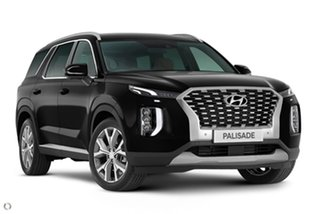 2021 Hyundai Palisade LX2.V1 MY21 Highlander 2WD Black 8 Speed Sports Automatic Wagon