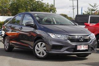 2018 Honda City GM MY19 VTi Grey 1 Speed Constant Variable Sedan.