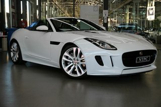 2017 Jaguar F-TYPE X152 MY17 Convertible White 8 Speed Sports Automatic Convertible.