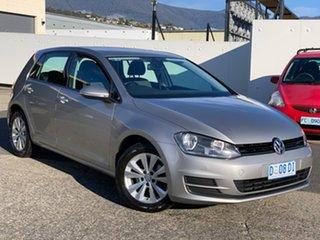 2013 Volkswagen Golf VII 90TSI DSG Comfortline Silver 7 Speed Sports Automatic Dual Clutch Hatchback.