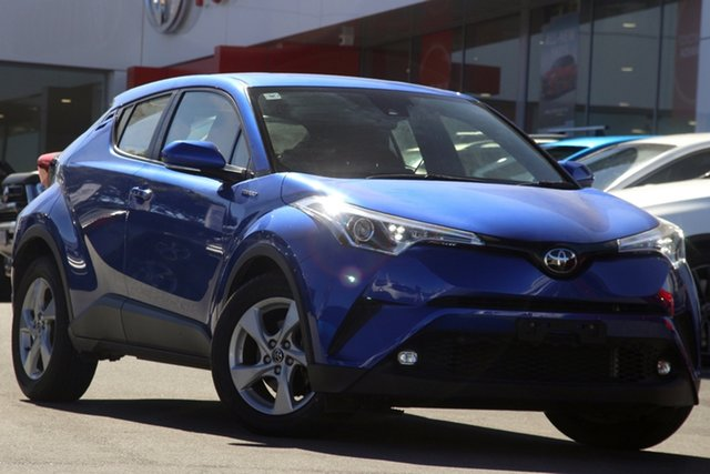 Pre-Owned Toyota C-HR NGX10R S-CVT 2WD Woolloongabba, 2019 Toyota C-HR NGX10R S-CVT 2WD Blue 7 Speed Constant Variable Wagon