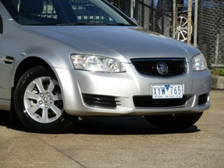 2010 Holden Commodore VE II Omega Adventurine Silver 6 Speed Sports Automatic Sedan.