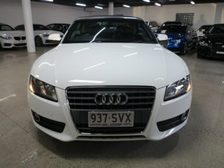 2011 Audi A5 8T MY11 Multitronic White 8 Speed Constant Variable Cabriolet.
