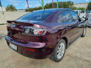 2007 Mazda 3 BK10F2 Maxx Purple 5 Speed Manual Sedan.