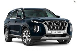 2021 Hyundai Palisade LX2.V1 MY21 Highlander 2WD Blue 8 Speed Sports Automatic Wagon.