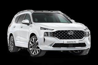 2021 Hyundai Santa Fe Tm.v3 MY21 Highlander DCT Glacier White 8 Speed Sports Automatic Dual Clutch