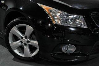 2011 Holden Cruze JH Series II MY11 SRi-V Black 6 Speed Sports Automatic Sedan.