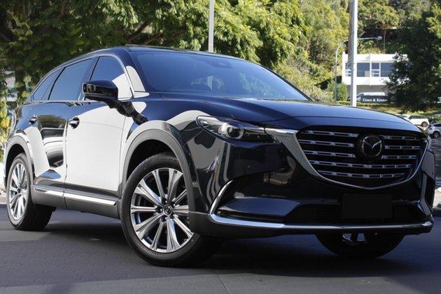 New Mazda CX-9 TC Azami LE SKYACTIV-Drive i-ACTIV AWD Paradise, 2021 Mazda CX-9 TC Azami LE SKYACTIV-Drive i-ACTIV AWD Jet Black 6 Speed Sports Automatic Wagon