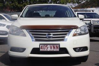2014 Nissan Pulsar B17 ST-L White 1 Speed Constant Variable Sedan.