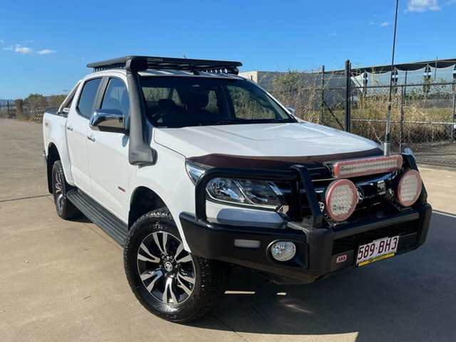 Used Holden Colorado RG MY18 LTZ Pickup Crew Cab Townsville, 2018 Holden Colorado RG MY18 LTZ Pickup Crew Cab White/111218 6 Speed Sports Automatic Utility