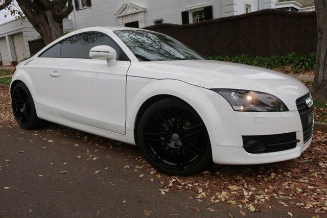 Used Audi TT 8J MY09 S Tronic Prospect, 2008 Audi TT 8J MY09 S Tronic White 6 Speed Sports Automatic Dual Clutch Coupe