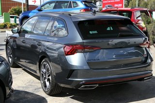 2020 Skoda Octavia NX MY21 RS DSG Quartz Grey 7 Speed Sports Automatic Dual Clutch Wagon.
