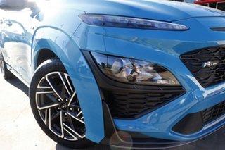 2021 Hyundai Kona Os.v4 MY21 N-Line D-CT AWD Premium Dive in Jeju 7 Speed.