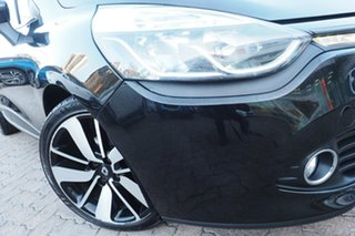 2013 Renault Clio X98 Dynamique Black 6 Speed Automated Manual Hatchback.