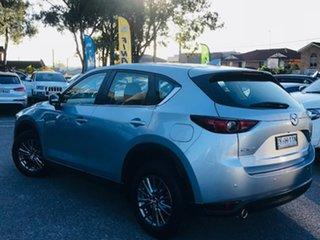 2017 Mazda CX-5 KF2W7A Maxx SKYACTIV-Drive FWD Silver 6 Speed Sports Automatic Wagon.