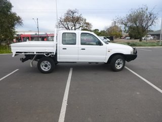 2003 Ford Courier PG GL White Manual Cab Chassis