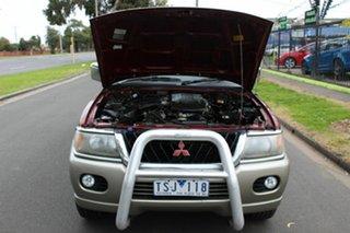 2001 Mitsubishi Challenger PA MY02 LS Red 4 Speed Automatic Wagon