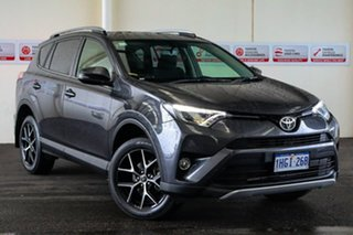 2016 Toyota RAV4 ZSA42R MY16 GXL (2WD) Graphite Continuous Variable Wagon.