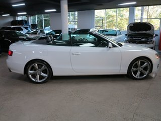 2011 Audi A5 8T MY11 Multitronic White 8 Speed Constant Variable Cabriolet