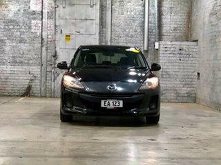 2013 Mazda 3 BL10F2 MY13 Maxx Activematic Sport Black 5 Speed Sports Automatic Hatchback.