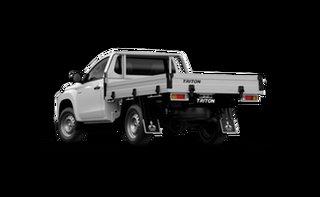 2021 Mitsubishi Triton MR MY21 GLX White 6 Speed Manual Cab Chassis.