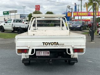 2007 Toyota Hilux TGN16R Workmate White 5 Speed Manual Cab Chassis